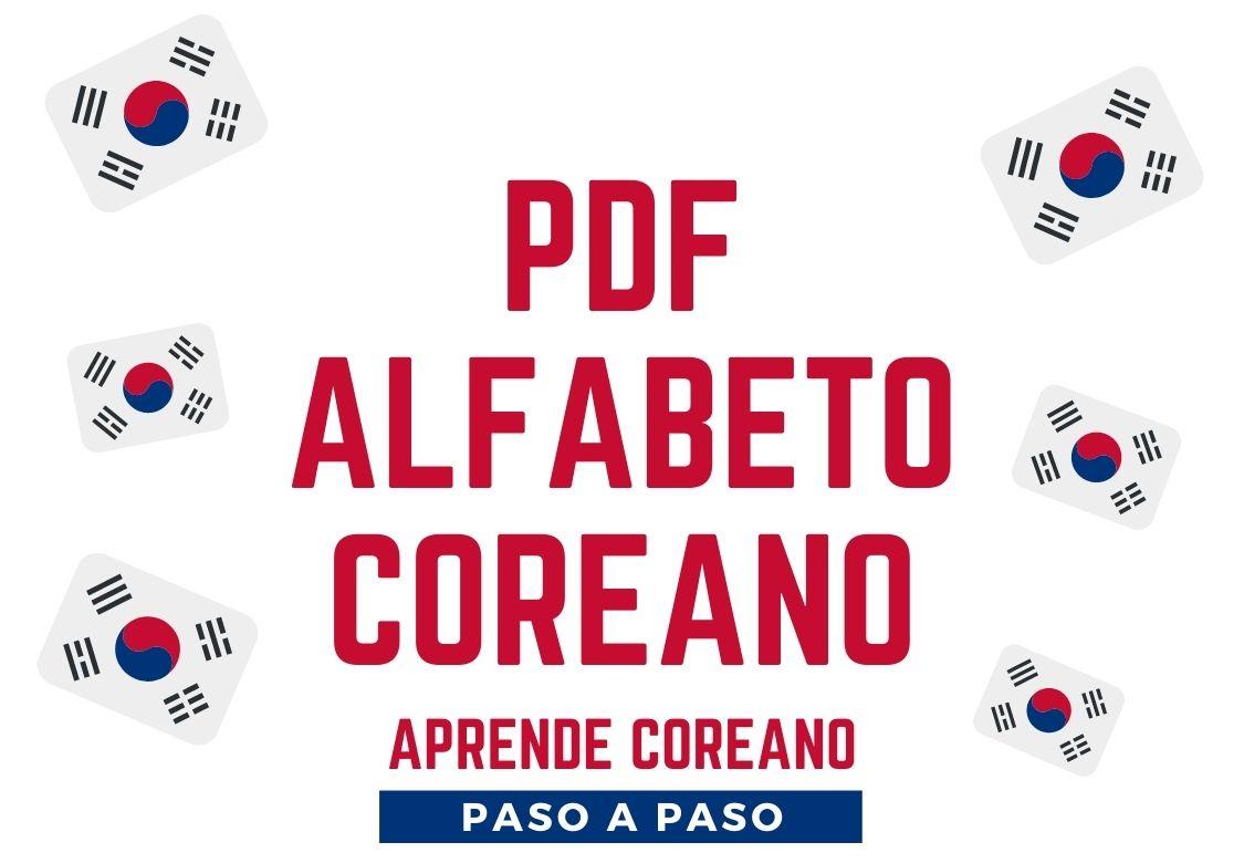 pdf para aprender coreano