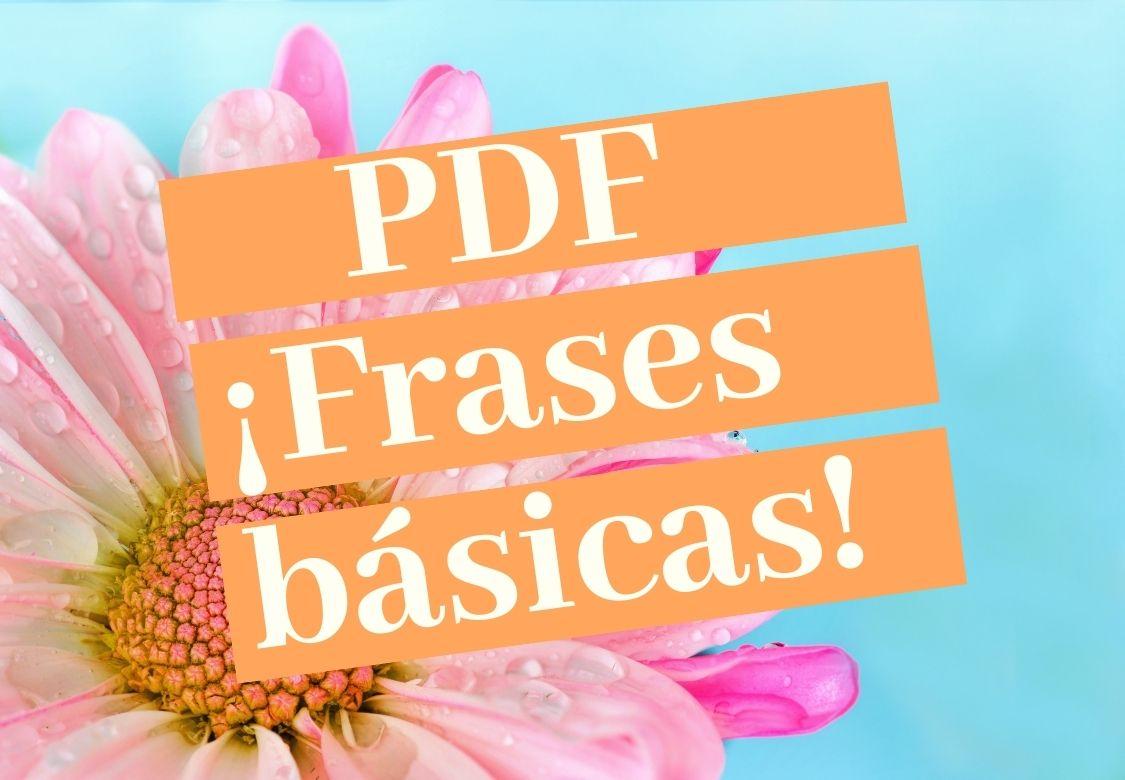 PDF PALABRAS Y FRASES EN COREANO